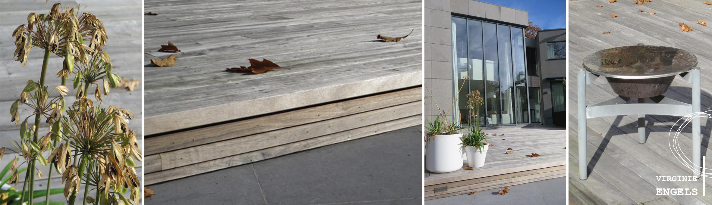 Moderne tuin met zwembad te brasschaat - Omgeving zwembad ontwerp ...
